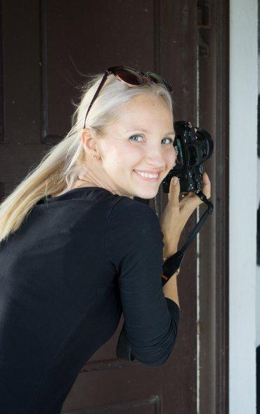 Fotografin und Visagistin